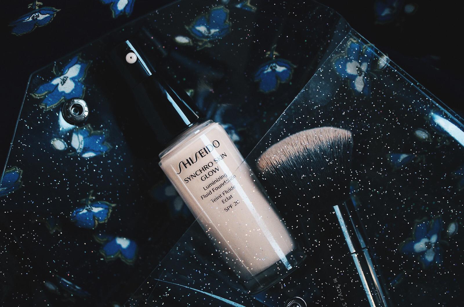 shiseido synchro skin glow fond de teint avis test