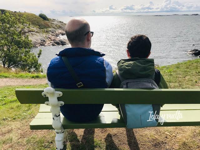Qué hacer en Helsinki vistas desde Suomenlinna