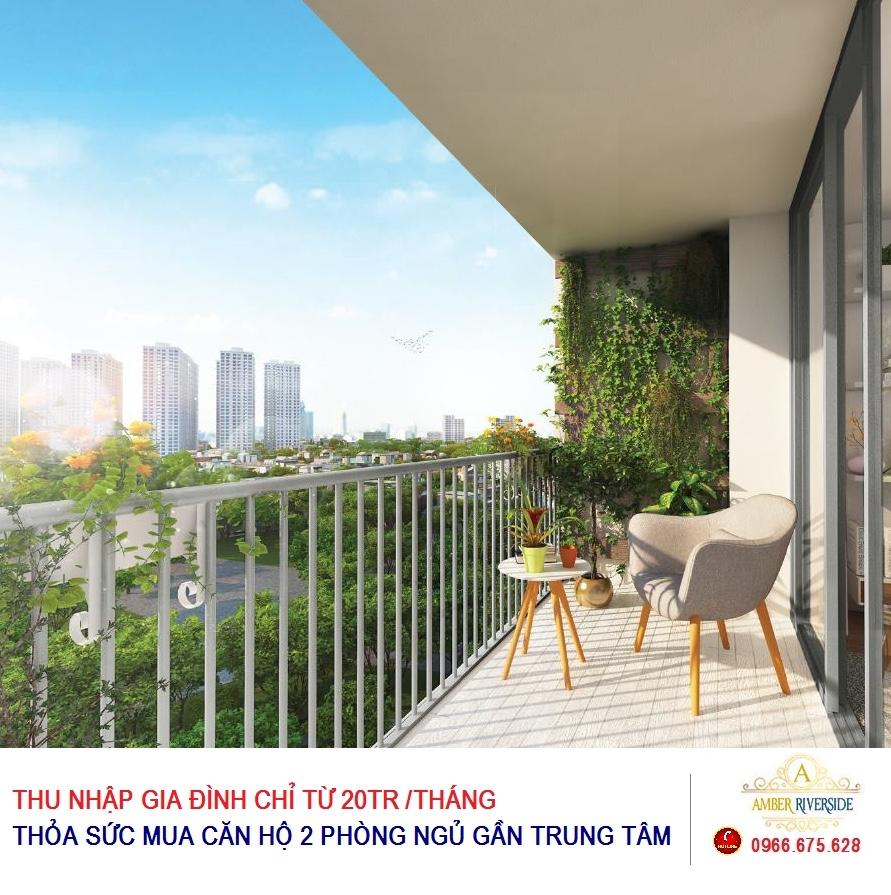 Cơ hội sở hữu nhà tại trung tâm với mức thu nhập chỉ từ 20 triệu đồng/tháng