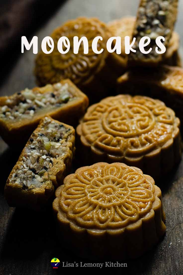Mooncake is often consumed during mid autumn festival.  Mooncake is rich in flavour with thin pastry wrapping around various fillings like lotus paste.