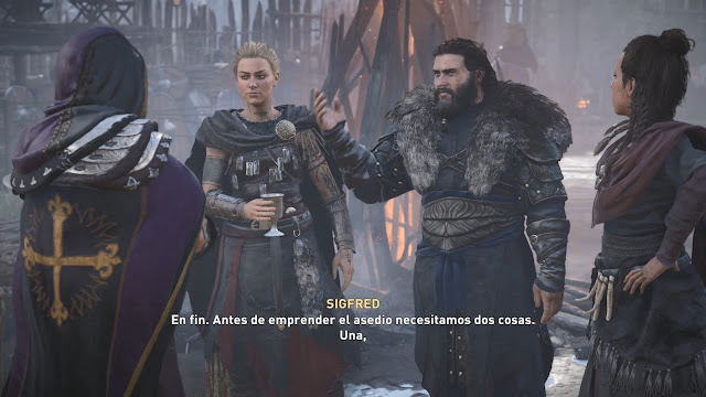 Antes de la guerra Análisis de Assassin's Creed Valhalla El asedio de París para PlayStation 4