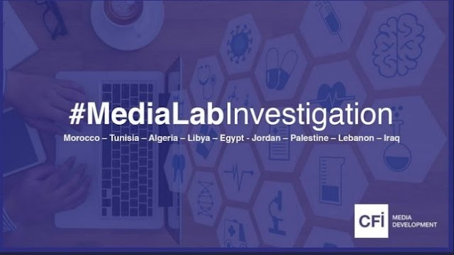MediaLab Investigation : call for projects to investigate health in the Arab world