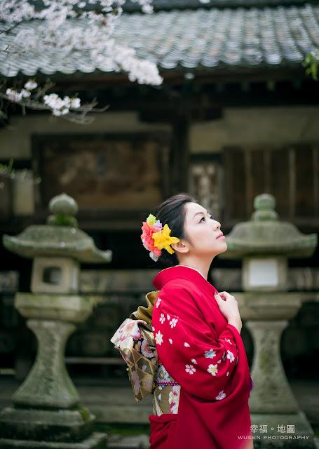 京都, 寫真, 和服, 櫻花季