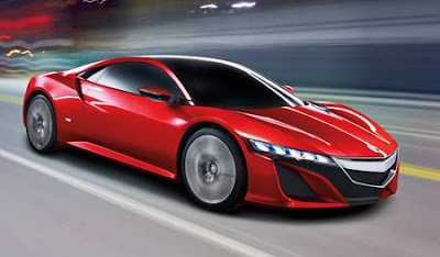 Honda Acura NSX - Luxury Cool Sport Cars From Honda