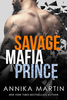 romance novel cover, contemporary romance, dark mafia prince by annika martin