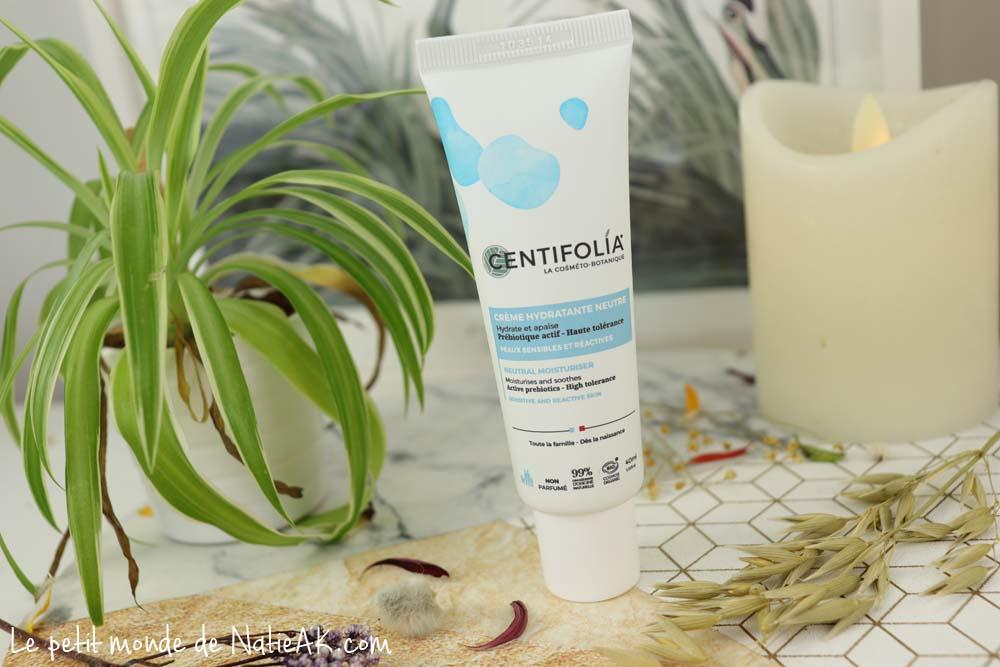 Crème hydratante neutre bio Centifolia