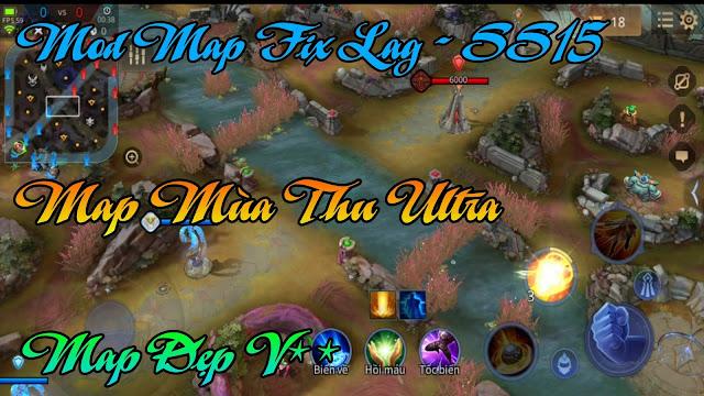 Fix Lag Liên Quân - Mod Map Mùa Thu Ultra Siêu Đẹp Giảm Lag Cực Mượt   HQT CHANNEL