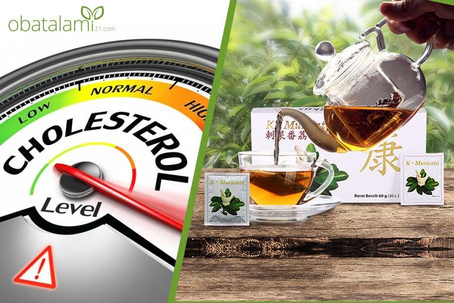 Obat Alami K-Muricata Menurunkan Kolesterol dengan Cepat