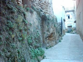 lo castellá, lo castellà, barrio, Beceite, Beseit, casco antiguo de Beceite 10