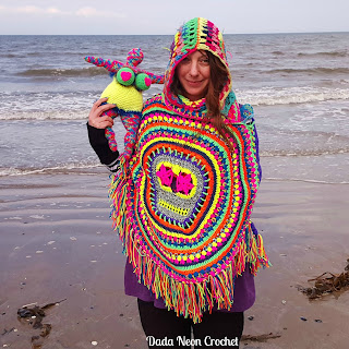 made by Dada Neon Crochet, pattern by Petra Perle