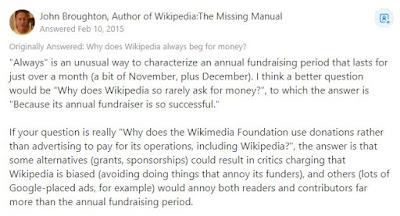 Cara wikipedia mendapatkan uang