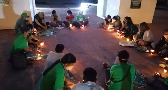 San Juan: Jóvenes se manifiestan a favor de tres causales del aborto