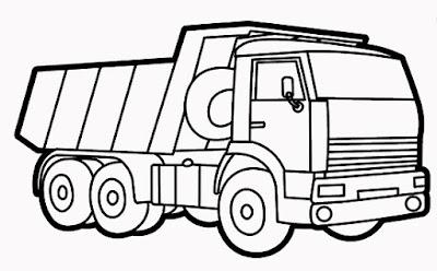 Sketsa gambar mobil yang mudah