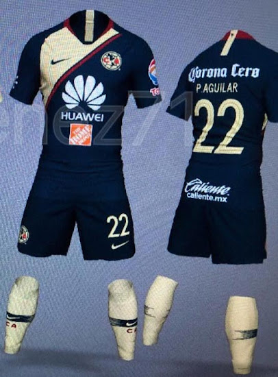 nike club america 2018 19 home away kits leaked footy