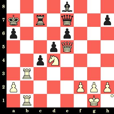 Les Blancs jouent et matent en 4 coups - Isaac Boleslavsky vs Gosta Stoltz, Saltsjobaden, 1948