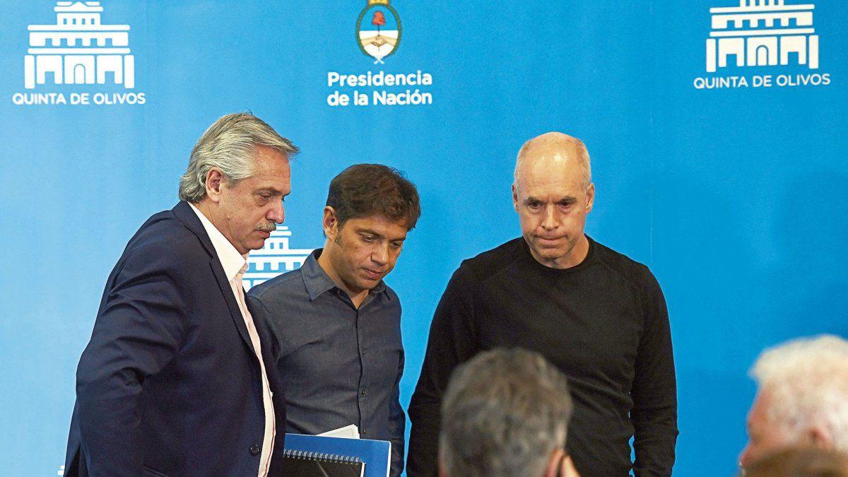 Kicillof teme que Larreta haga peligrar a la Provincia