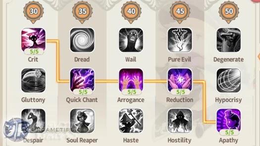 Lumia Saga: FS Warlock Talents Guide 1