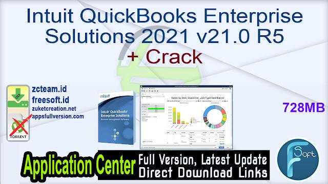 Intuit QuickBooks Enterprise Solutions 2021 v21.0 R5 + Crack_ ZcTeam.id