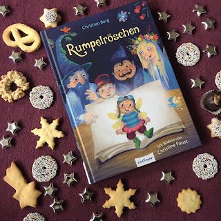 """""""Rumpelröschen"""" von Christian Berg, mit Bildern von Christine Faust, erschienen im Esslinger Verlag, Märchenadaption, Rezension auf Kinderbuchblog Familienbücherei"""