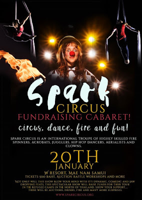 Spark Circus to visit Koh Samui 20th and 21st January