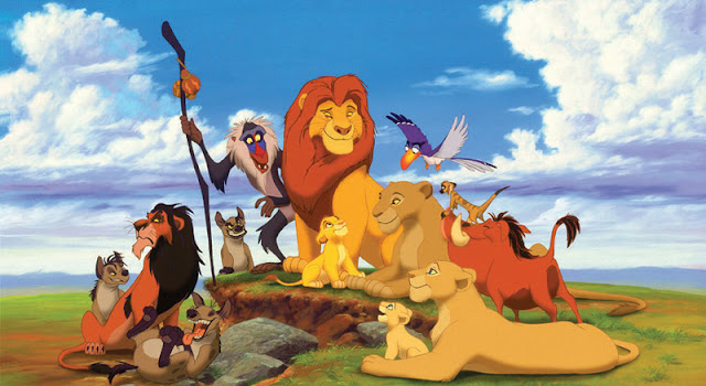 Animals together The Lion King 1994 animatedfilmreviews.filminspector.com