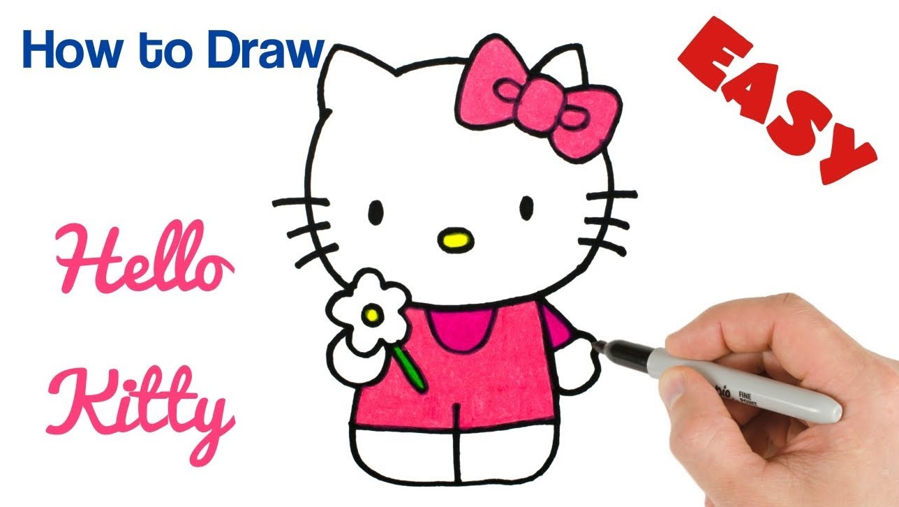 How To Draw Simple Easy Cartoon Characters Drawings Idea