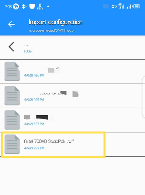 How To Set Up Airtel Social Bundle Browsing With WT Injector And Configuration File
