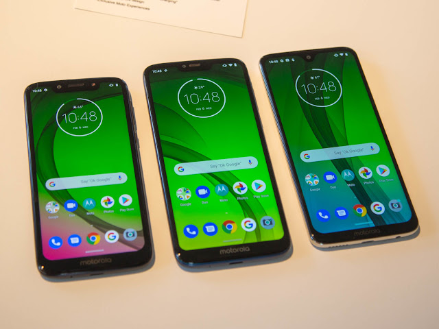 Motorola Moto G7 - Three New Motorola Phones Have Been Revieled