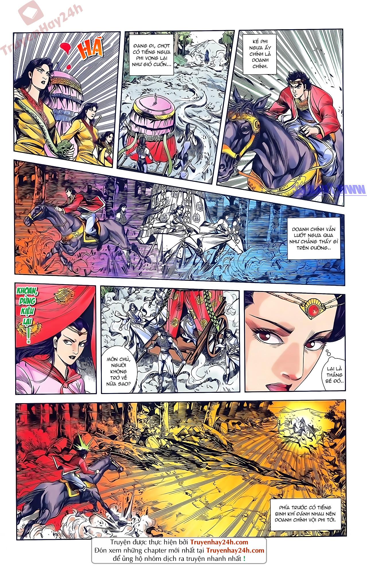 Tần Vương Doanh Chính chapter 46 trang 22