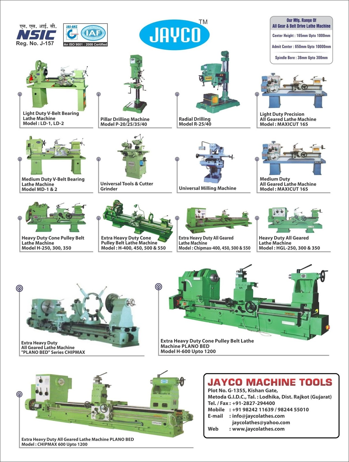JAYCO MACHINE TOOLS - 9824455010