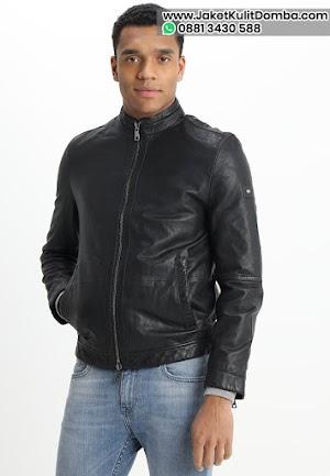 Harga Jaket Kulit Asli Domba Super Pria Warna Hitam Model Terbaru 2020 Brida Leather