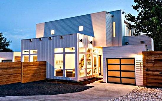 Desain Rumah Minimalis Terbaru (Rumah Kontainer)