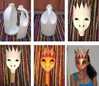mascara reciclada