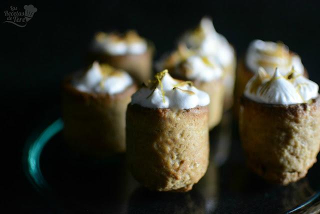 Timbal de galleta rellena con crema pastelera 01