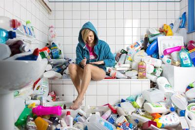 Reciclaje botellas de cartón