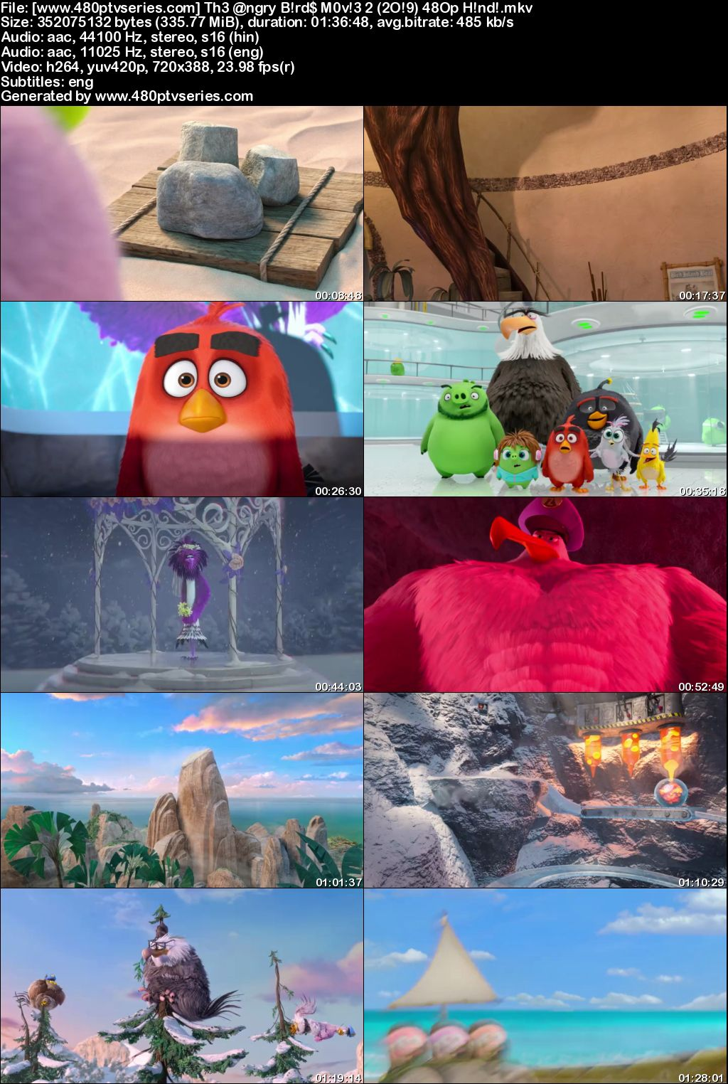 The Angry Birds Movie 2 (2019) 300MB Full Hindi Dual Audio Movie Download 480p Bluray Free Watch Online Full Movie Download Worldfree4u 9xmovies