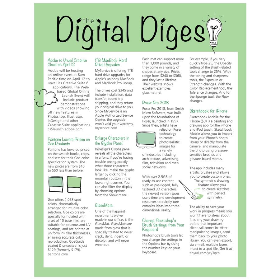gcvisualart portfolio digital media newsletter