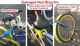 hexi app bicycle review