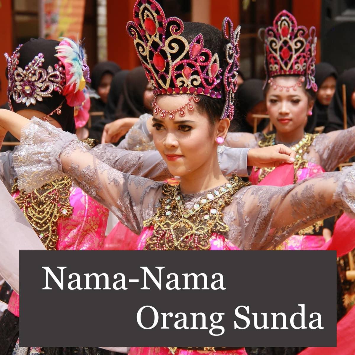 Nama-Nama Orang Sunda