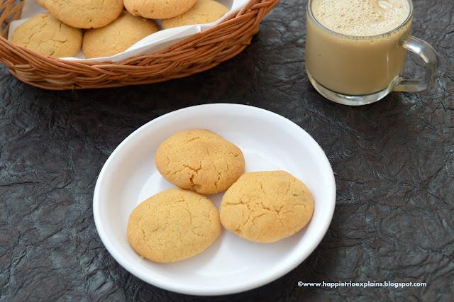 Whole Wheat Walnut Cookies