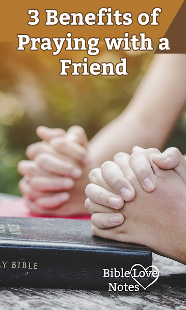 This 1-minute devotion offers 3 excellent reasons to find a prayer partner.
