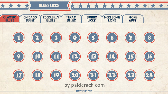 144 Blues Guitar Licks Pro Apk