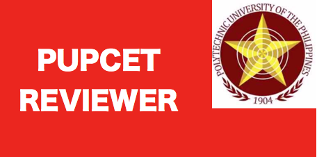 PUPCET Online Reviewer Compilation | Online Exam Reviewer