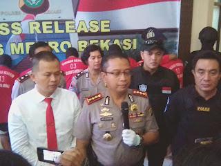 Sat Reskrim Polres Metro Bekasi Berhasil Bekuk Pelaku Curas