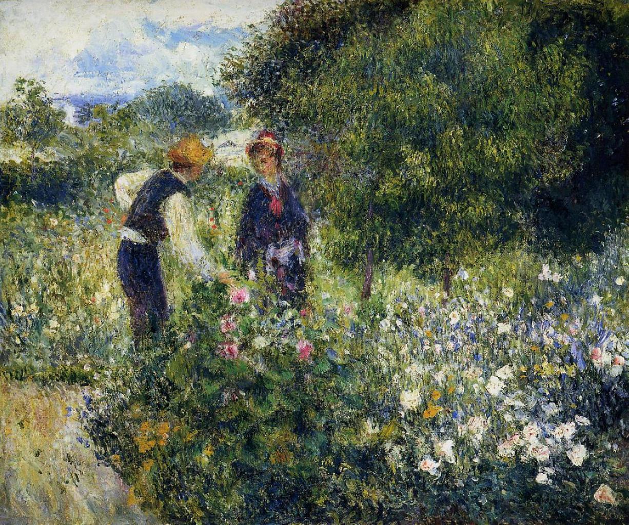 Pierre auguste renoir impressionist painter part 4 for Paintings by renoir