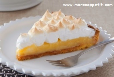 Tarte au citron meringuée | Lemon meringue pie