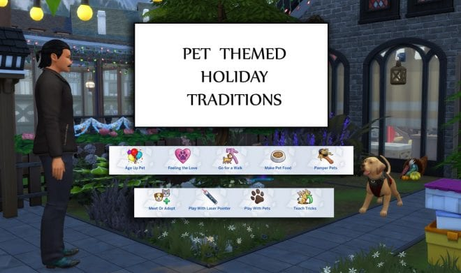 PET THEMED HOLIDAY TRADITIONS
