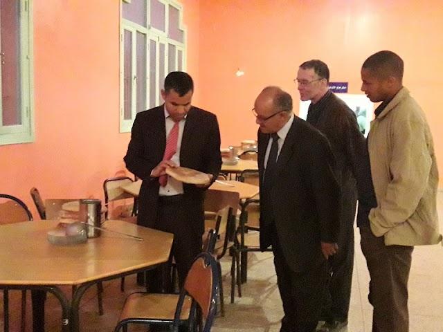 المديرية الإقليمية تنغير: تنظيم زيارة تفقدية للقسم الداخلي بثانوية بومالن دادس التأهيلية