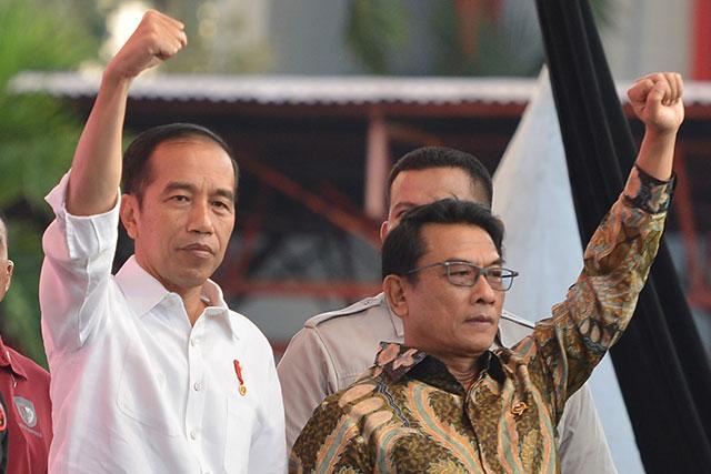 Andi Mallarangeng Duga Jokowi Biarkan Moeldoko Ambil Demokrat