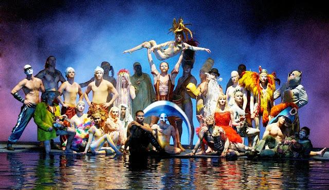 "Cirque Du Soleil ""O"" in Las Vegas"